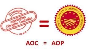 L'AOC et son équivalent européen AOP