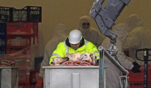 limite inférieure de la viande