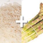 asperges en risotto