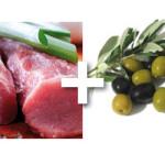 Filet de porc aux olives