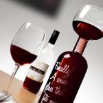bouteille de vin ouverte
